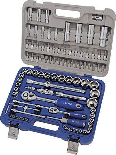 Autocle Irimo BH129-101-4, kit de llaves de vaso de acero