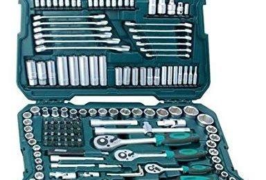 mannesmann 215, Mannesmann M98430 - Maletín con llaves de vaso y otras herramientas (215 piezas, tamaño- 12x36x51 cm), caja de herramientas mannesmann 215 precio
