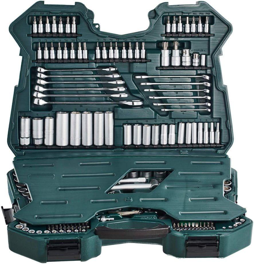 maletin de herramientas mannesmann 215 piezas